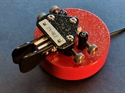 """Picture of ZN-9RZ (stock-red/black, 5/8"""" OTO)"""